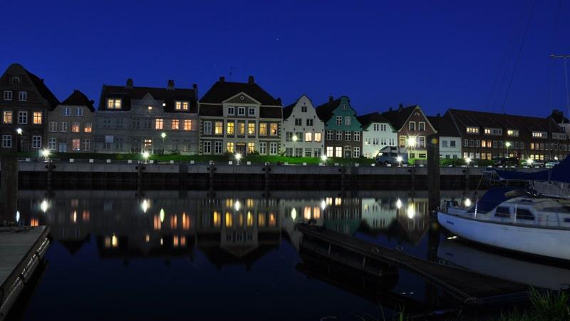 Abendstimmung Hafen Glückstadt © GDM, Fotograf Kirbis