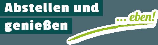 Gastronomie Abstellen und genießen … eben!
