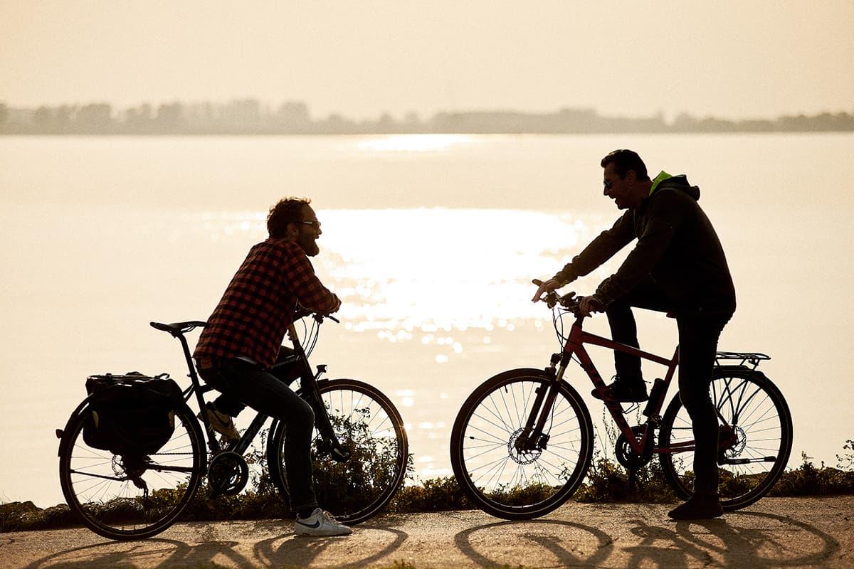 Öffentliche geführte Radtouren