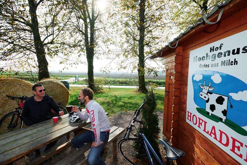 Café Hof Hochgenuss in Elskop – Ein Eis geht immer! -c- GDM, Fotograf Kratz