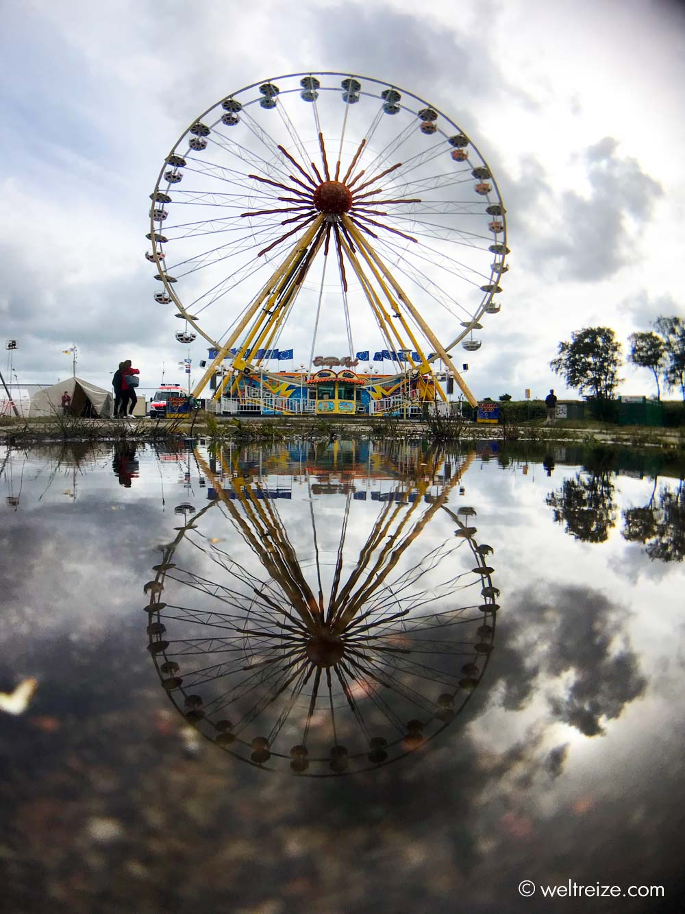 Riesenrad auf dem Happytown Festival in Glückstadt (c) Claudia Sittner, Weltreize