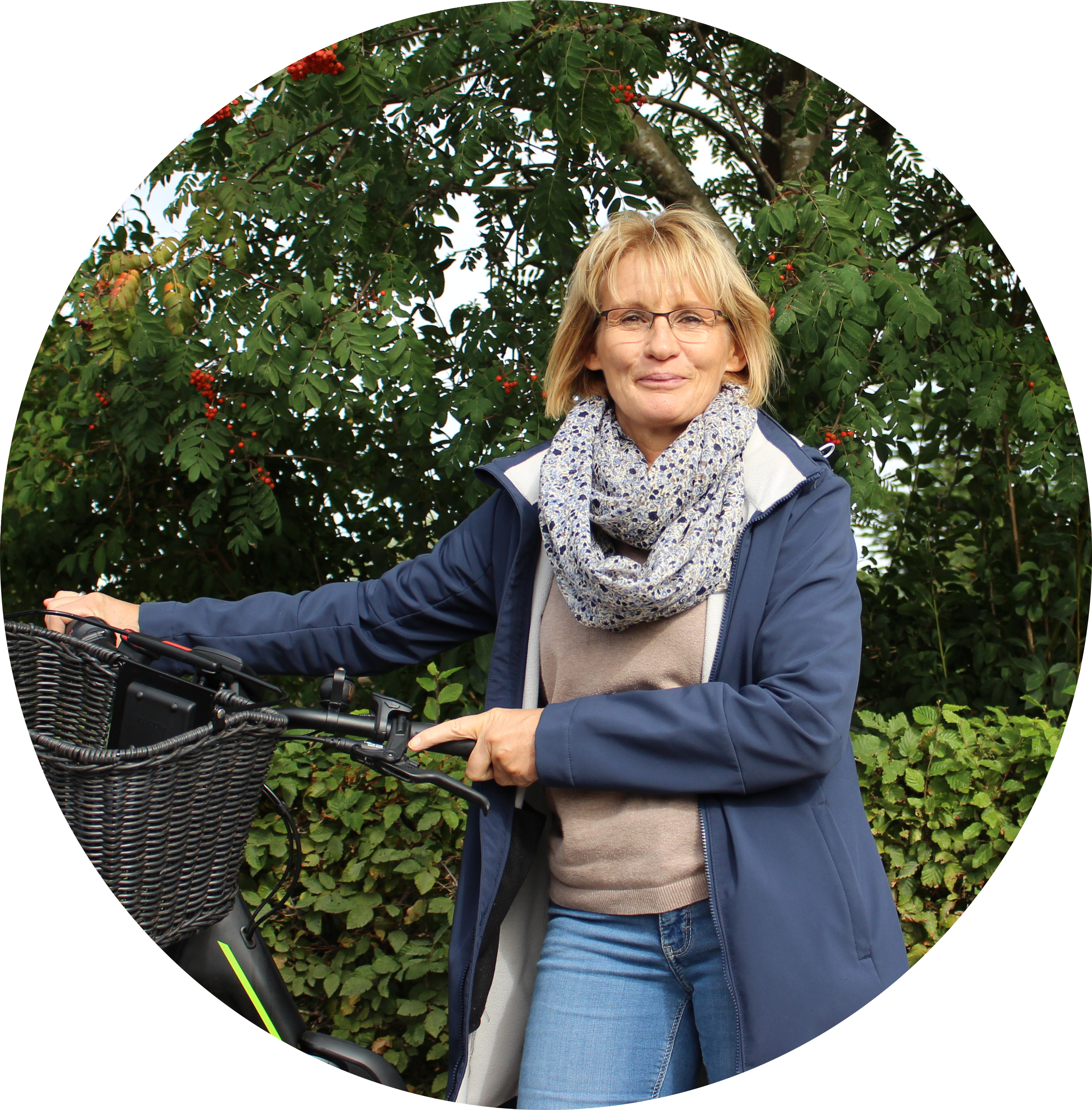 Radtouren-Guide Ute Lange (c) GDM, Kratz